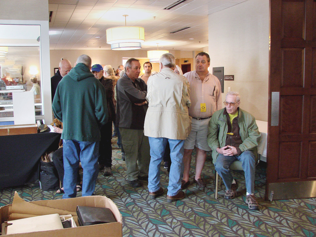 The gate may look differently than it did at the 2019 Hampton Antiques Show, seen here, but attendees will no doubt enjoy the show this year on October 18 and November 15.