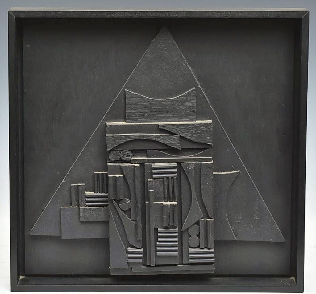The sale found its leader in the 1981 American Book Award, a Louise Nevelson assemblage sculpture presented to author Deirdre Bair, who received it for her acclaimed biography of writer Samuel Beckett. The piece came from Bair's estate.