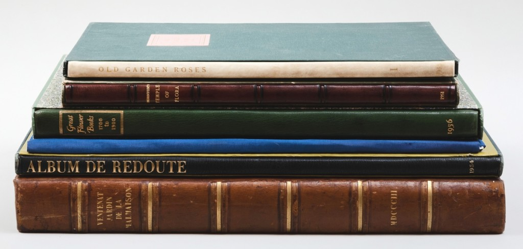 A lot of six volumes, including Sacheverell Sitwell and Roger Madol's Album de Redouté, was estimated $150/250 but finished at $39,975.