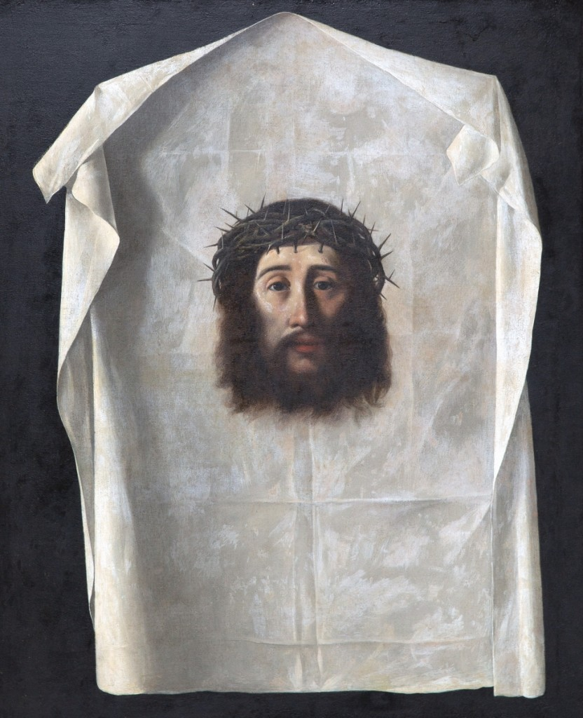 "Auction action on the sale's first day was led by a soulful depiction of Christ with crown of thorns by Francisco De Zurbaran (Spanish, 1598-1664), ""Veil of Veronica,"" circa 1638-40, reaching $275,000, more than twice the estimate."