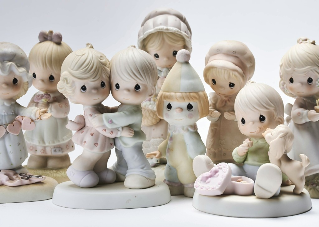 The craze for mass-produced collectibles like the ones shown here began in the mid-Twentieth Century. While they have enabled people of all demographics to experience the joys of collecting and connoisseurship, they rarely if ever appreciate in value.