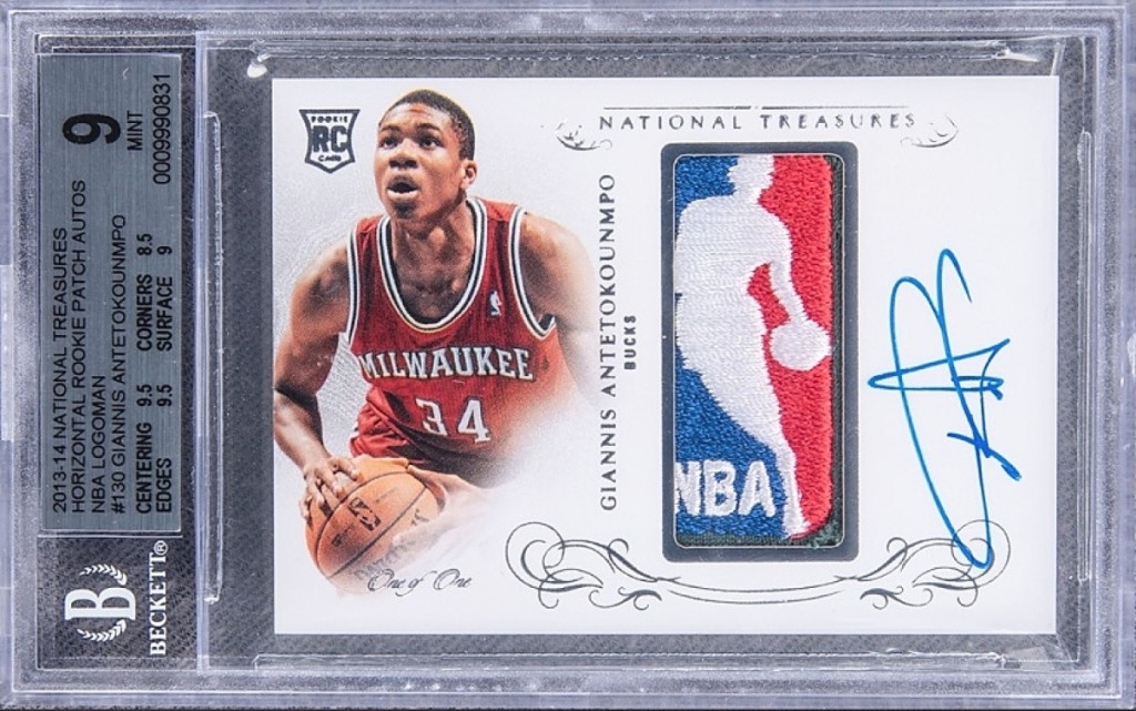 Basketball card Most Valuable