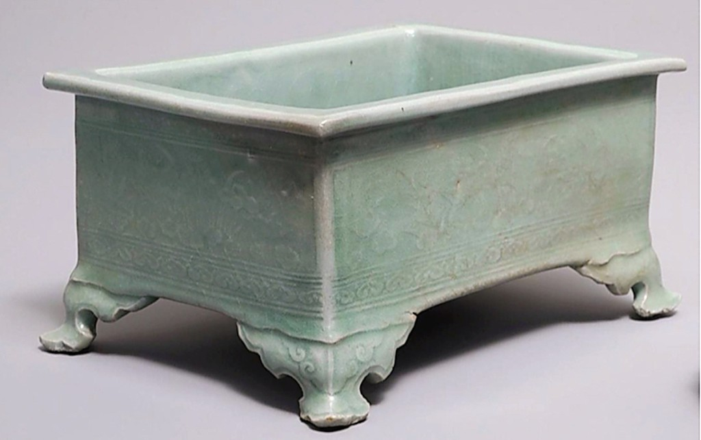 It was a postsale surprise — but a pleasant one when this Korean Koryo celadon glazed incense burner sold for $28,125.