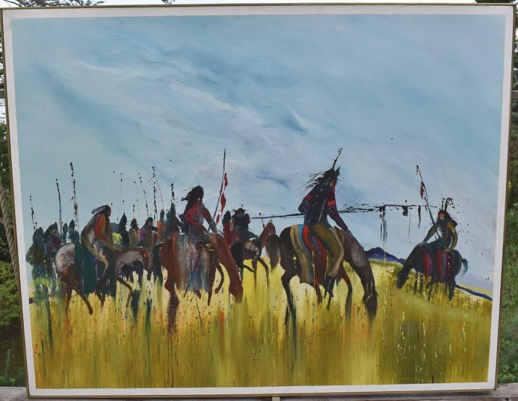 AB Mid-Atlantic Biss painting