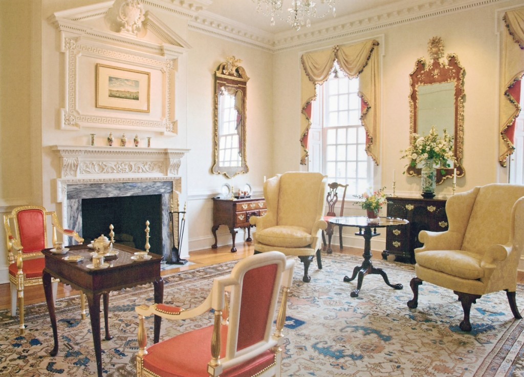The parlor at Hennage House. Photo Barbara Temple Lombardi.