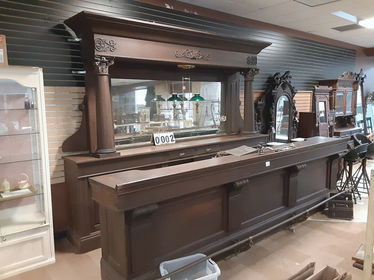 Drinks All Around! Oak Bar Tops Iroquois Auctions' 50th ...