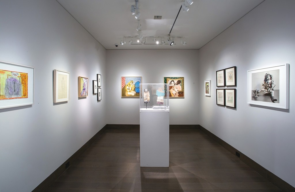 "Installation view of ""To Be Human: The Figure in Self-Taught Art"" at Hirschl & Adler as part of the Outsider Art Fair 2021. The exhibition included work by Hawkins Bolden, Jeanne Brousseau, Eugene Von Bruenchenhein, James Castle, Henry Darger, James Edward Deeds, Guo Fengyi, Vera Girivi, William Goldman, Josef Hofer, Issei Nishimura, Reza Shafahi, Mary T. Smith, Janet Sobel, Mose Tolliver, Bill Traylor, Frank Walter, Purvis Young, Elisabetta Zangrandi and David Zeldis. Photo Credit: Olya Vysotskaya"