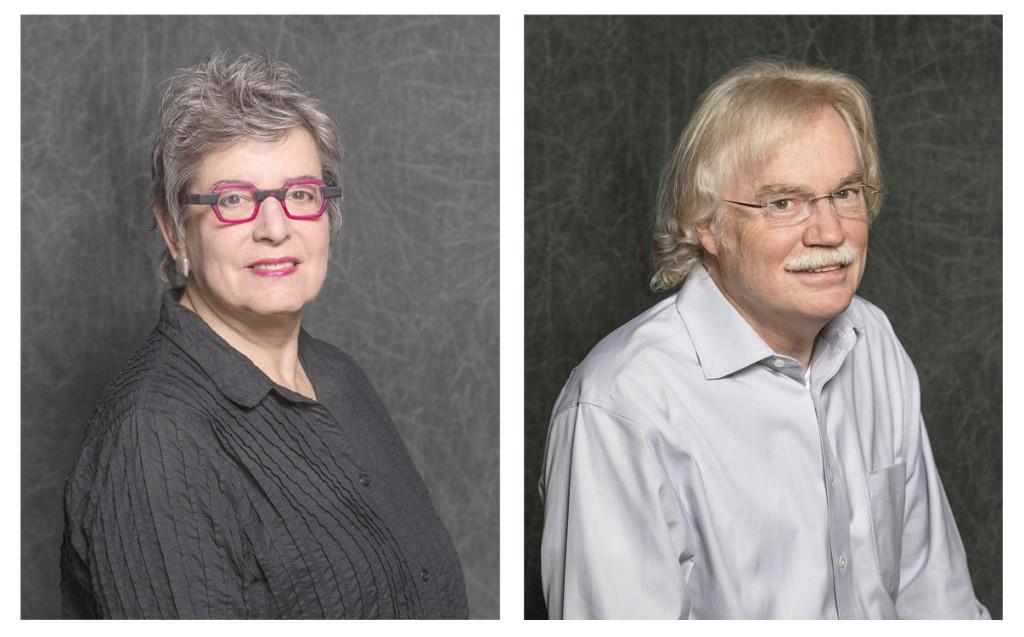 Linda Eaton, senior curator emerita of textiles and Gregory Landrey, senior conservator emeritus of furniture.