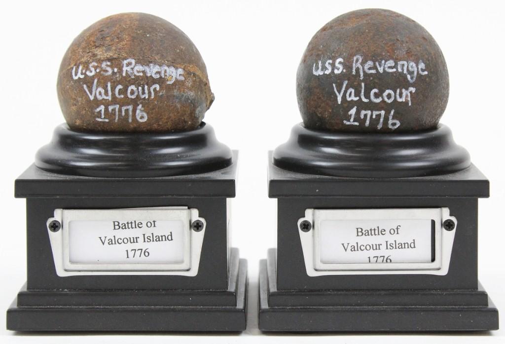 AB Merrill's cannonballs