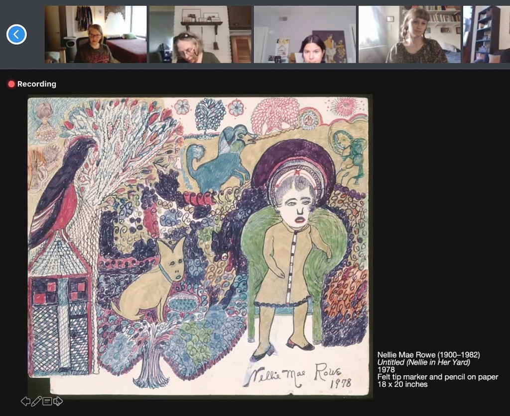 Throughout the year, the museum offered several Digital Drink + Draw programs that presented the work of self-taught artists through a number of different lenses.