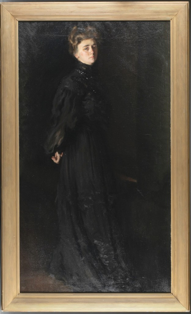 Topping the sale was a Nineteenth Century American School portrait of Isabella Stewart Gardner (1840-1924), which earned more than 25 times its high estimate, bringing $69,850.