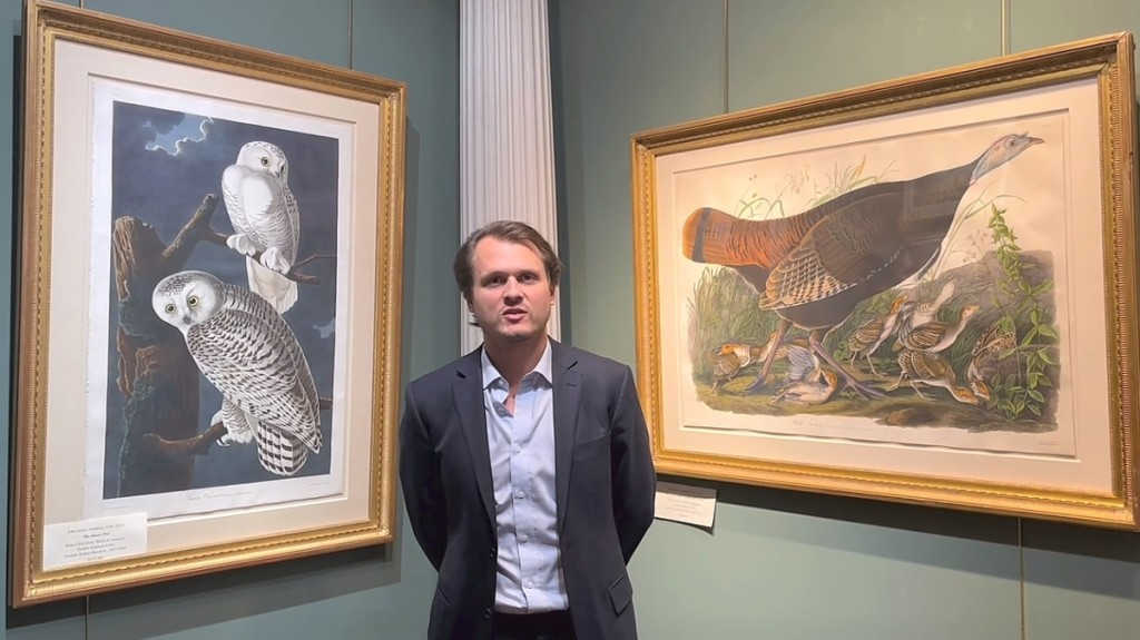 Among several exhibitors' talks was one by Walter Arader, director of Arader Galleries in New York City.