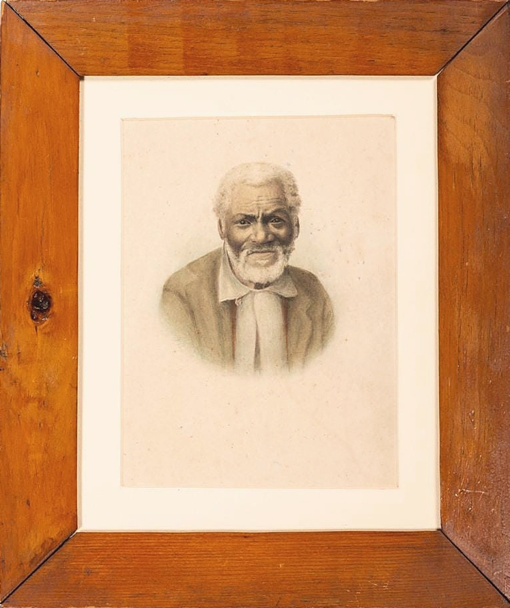 There are not many auction records for Maria Howard Weeden (1847-1905), a poet and artist who painted dignified portraits of African American freedmen and freedwomen. This watercolor was believed by some to depict Uncle Remus, an idea that no doubt propelled it past the $1,500 estimate to bring $8,960.