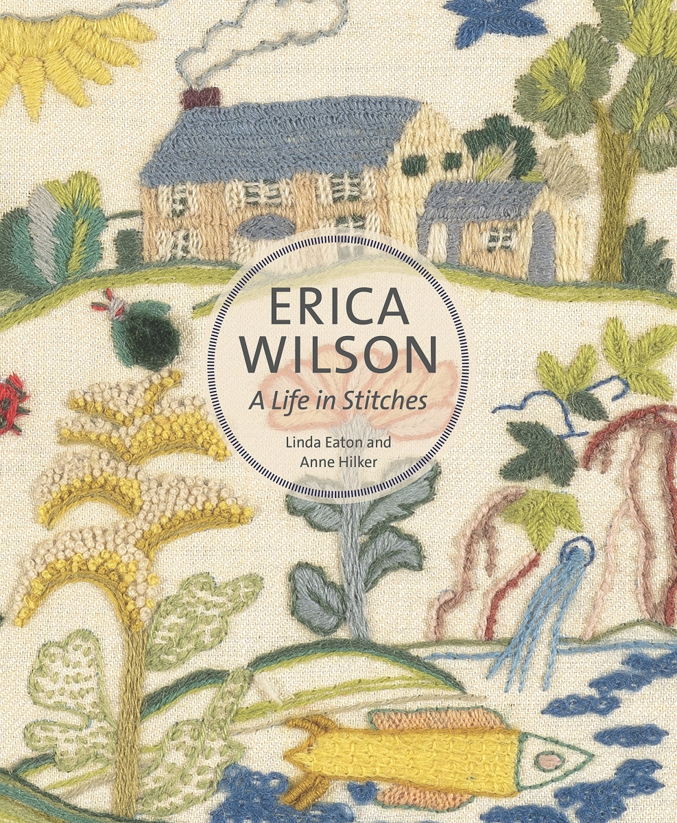 Erica Wilson: A Life in Stitches by Linda Eaton and Anne Hilker places the entrepreneur's life within the broader context of the Twentieth Century crafts revival.