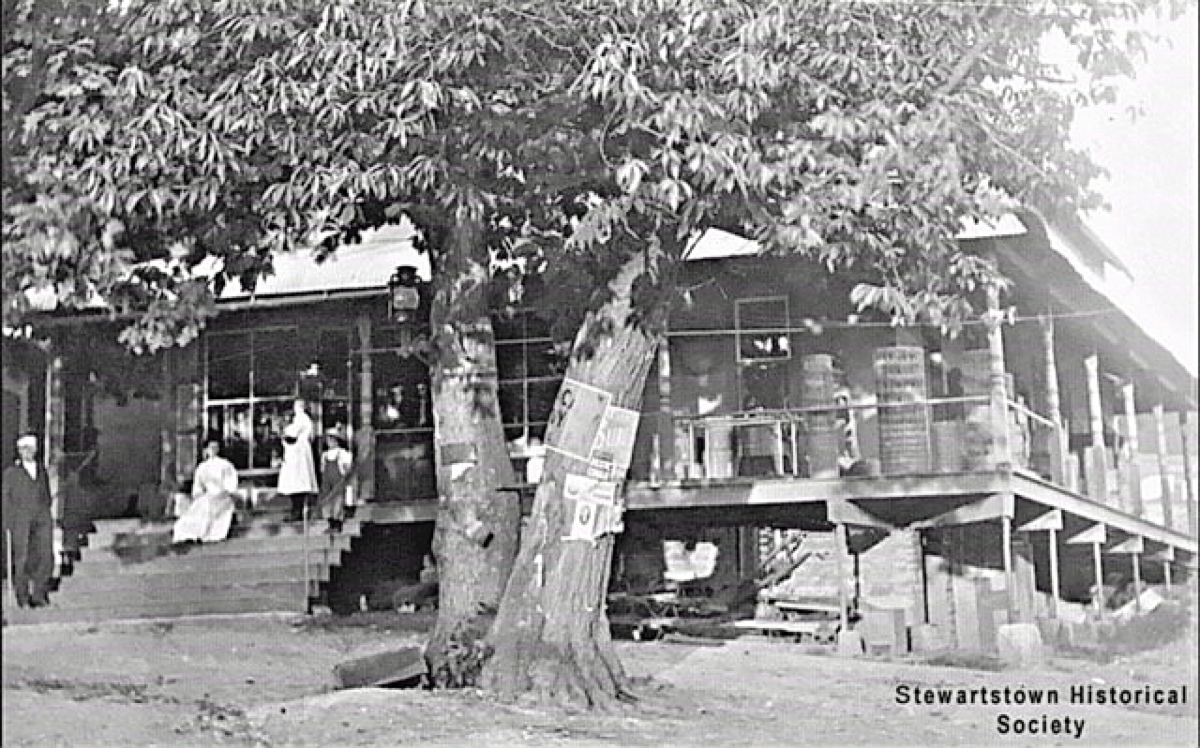 The Gatchellville Store has been in this location since sometime before 1850.