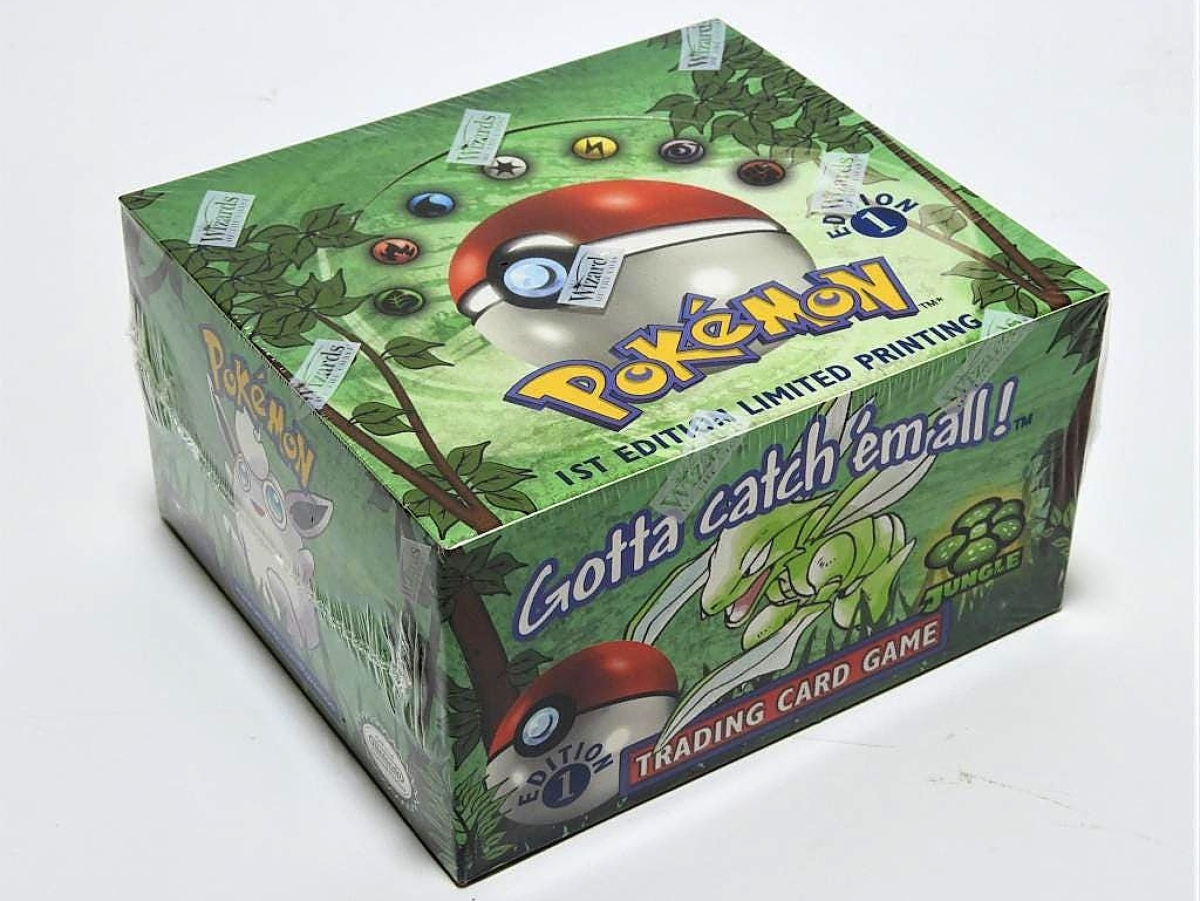 The sale's top lot was found at $18,000 for a Pokémon first edition factory sealed Jungle Booster box. Landry said that was within expectations.