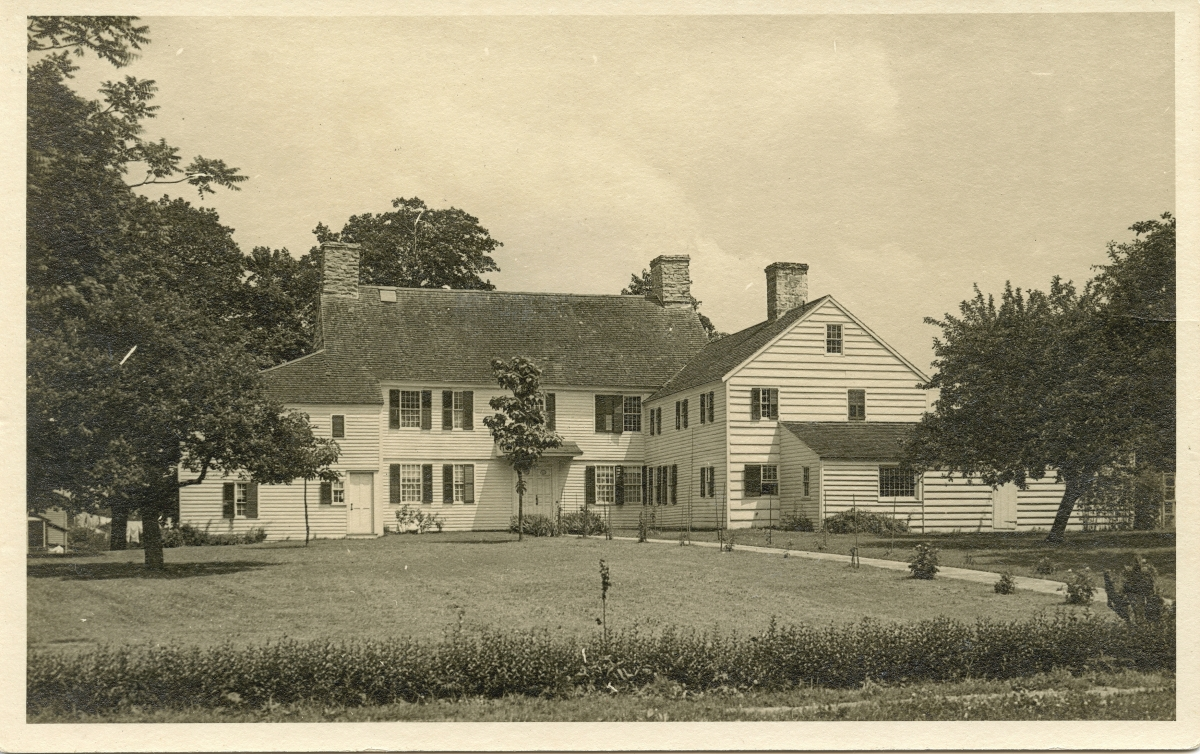 Pardee Morris House, circa 1920s, courtesy New Haven Museum.