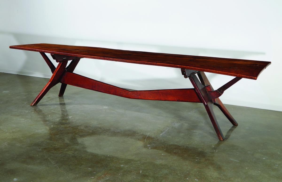 """Wharton Esherick's """"Thunder Table."""""""