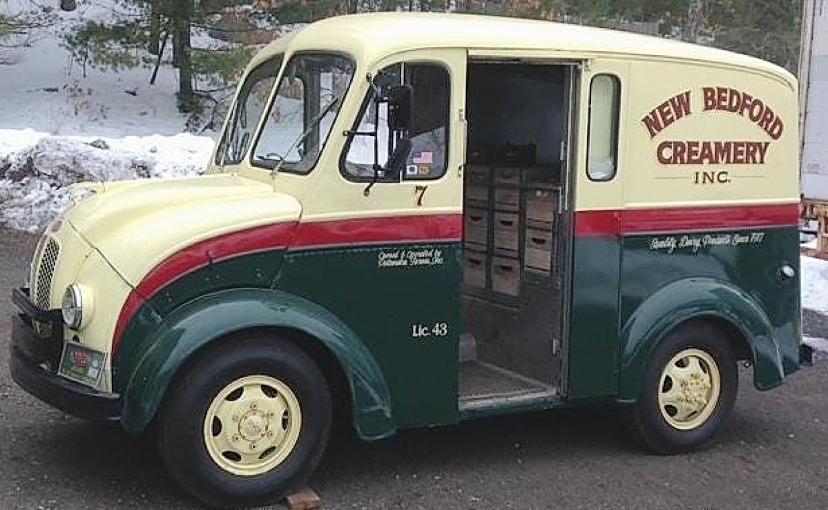 A New Hampshire collector left with the sale's top lot, a rare 1959 diminutive Divco panel milk truck. Selling for $18,000, the milk truck led a plethora of pieces from a collector's estate, offered mostly unreserved. With 23,425 original miles and nicely restored body, the vehicle was in good running condition and came with a bonus — vintage milk bottles and crates.
