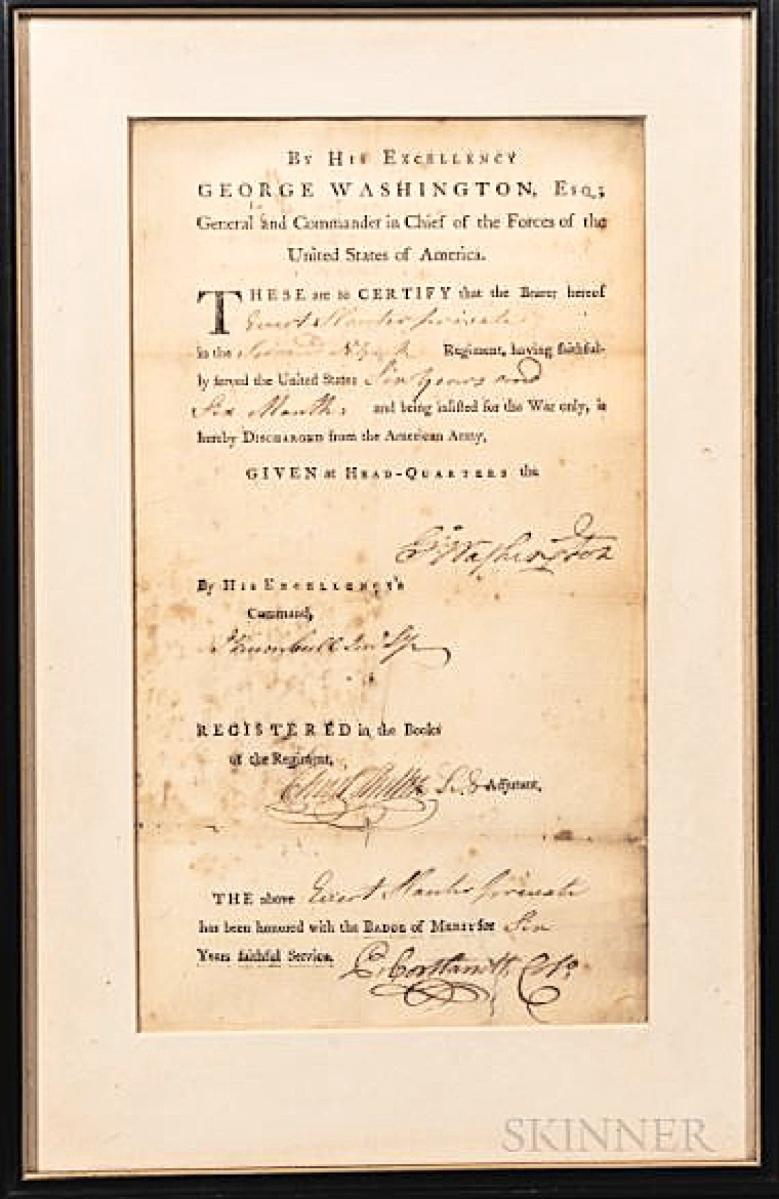 AB Skinner Washington discharge form