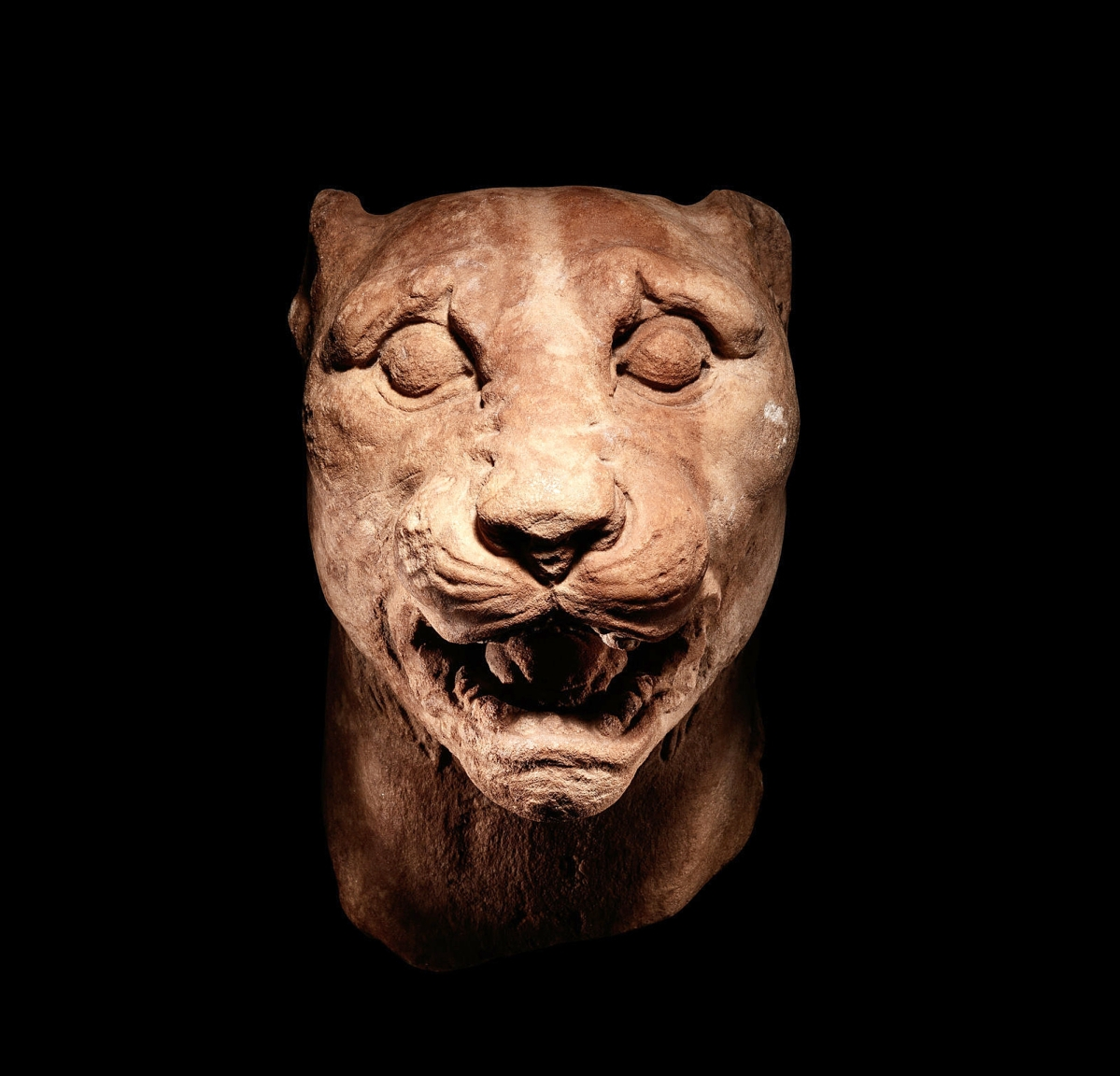 The sale's cover lot was this Greek marble panther that brought $68,750. Coley noted that it may have been a pair with another sold out of the collection of the Albright-Knox Gallery in 2007. It dated circa the Third to Second Century BCE.