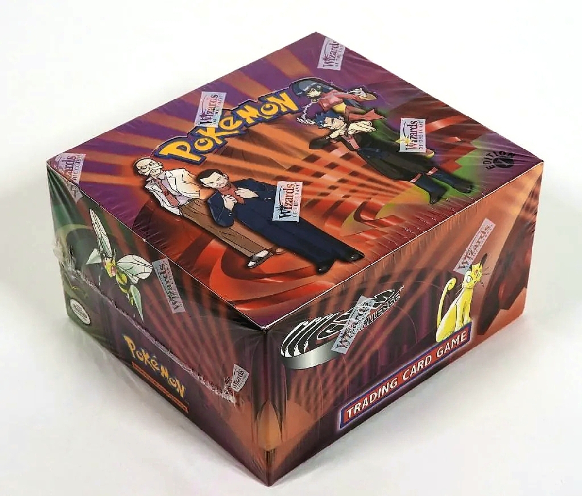 An Orlando collector contacted Landry after seeing him appraise a Magic card on Antiques Roadshow. He had a number of sealed Pokémon booster boxes and packs, the highest of which was this factory sealed first edition Pokémon Gym Challenge box that sold for $17,500.