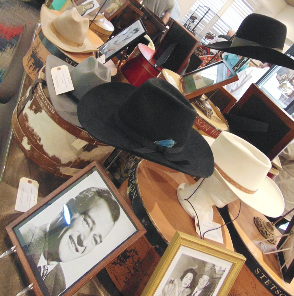 The 2021 Cody Old West Auction was kicked off to a rousing start leading to $1.1 million in sales, with this incredible collection of custom-made cowboy hats for Western movie stars assembled by East Coast industrialist and collector Ray Bentley.