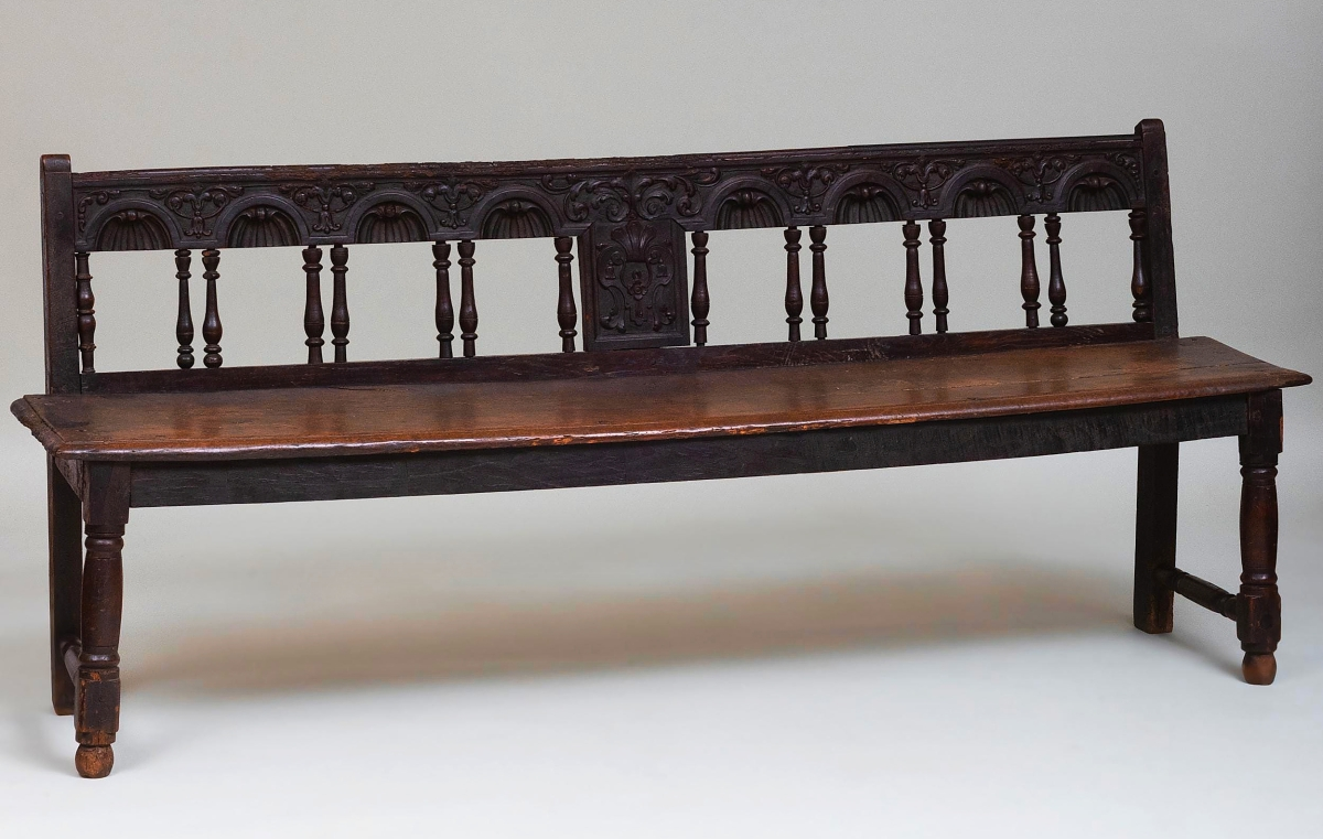 The highest price for sterling silver in the sale was posted by this monogrammed S. Kirk & Sons sterling silver tray, 26 inches long and 17 inches wide. Weighing 90 troy ounces, it was bid to $2,360.