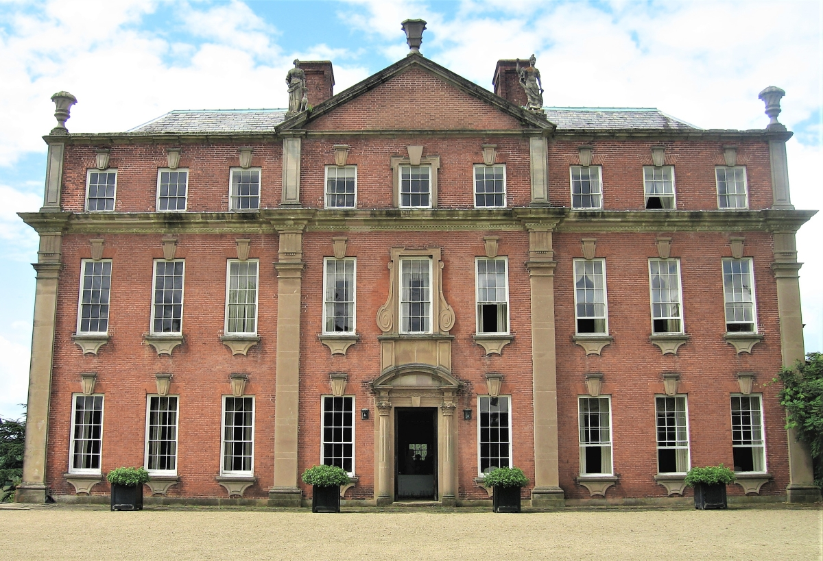 """Mawley Hall in Shropshire, England, is Savage's favorite house. """"Baroque, of course, but I understand it better as an Italianate villa in England,"""" he says."""