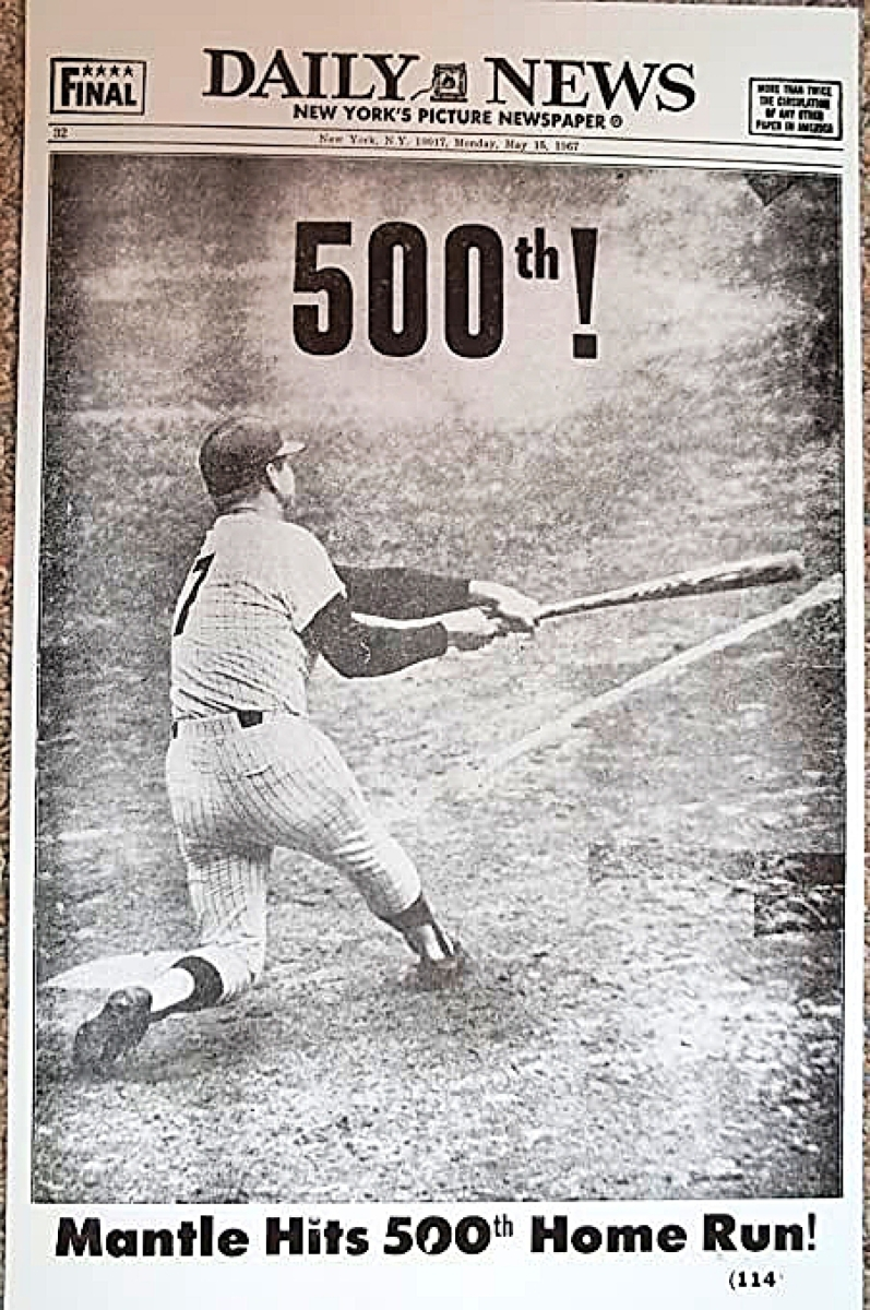 Mickey-Mantle-500th-home-run-NY-Daily-News-1967