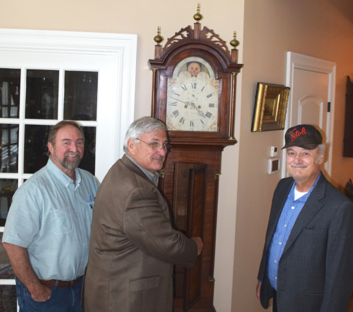 From left, Gary Yeaton, Mike Reopel and Kenneth Labnon.
