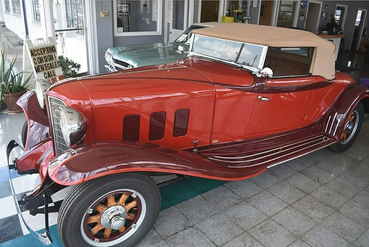 Ed Stoudt purchased this 1932 Auburn Convertible Roadster in the 1970s and had it fully restored. A buyer in Massachusetts snapped it up for $39,000, the sale's top lot.