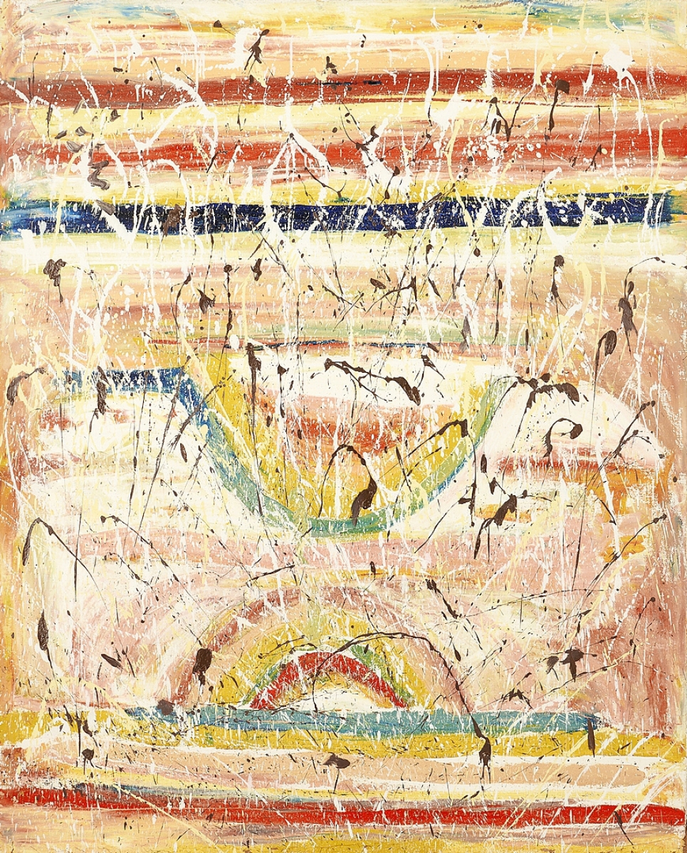 The sale's top lot was a Beauford Delaney painting from a family member's estate that brought $348,000. When researching the previously unattributed work, the auction house noted a similarity between this painting and one in the San Francisco Museum of Modern Art. That would ultimately lead to a consensus among curators that it was right and buyers were hot on the fresh discovery. It dates to circa 1972, just seven years before the artist passed away and from a period when he was engaging in more experimental styles and mediums than what he was previously known for. Oil on canvas, 63¾ by 51¼ inches.