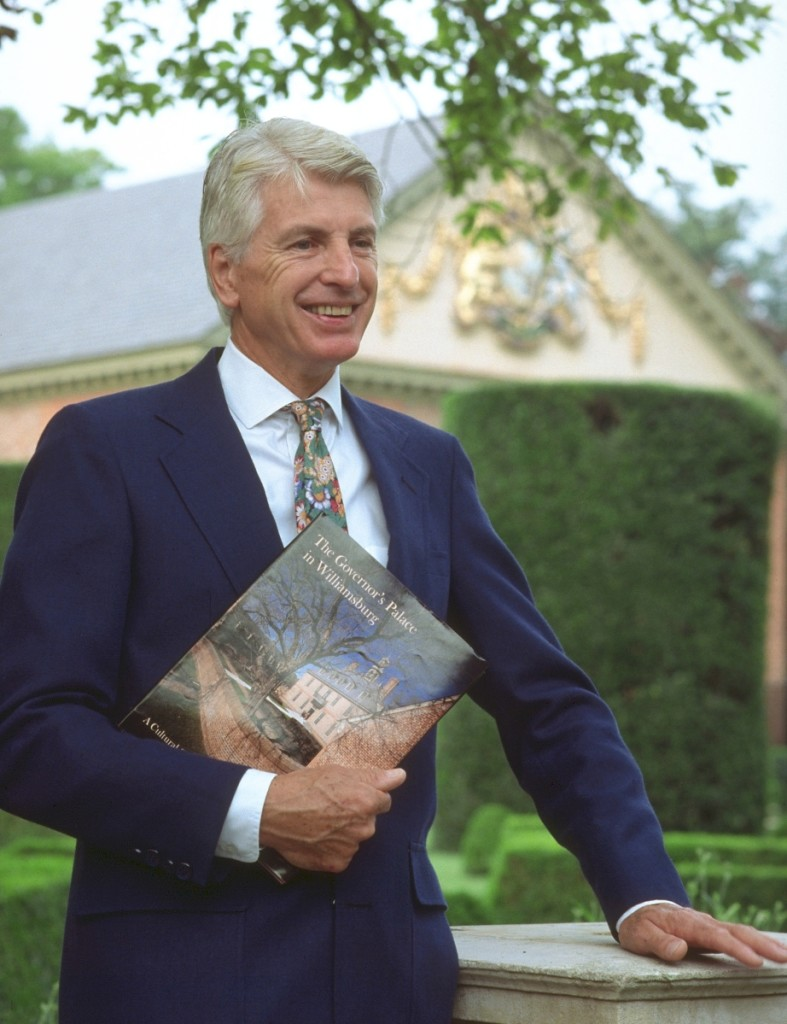 Graham Hood. Photo courtesy Colonial Williamsburg Foundation.