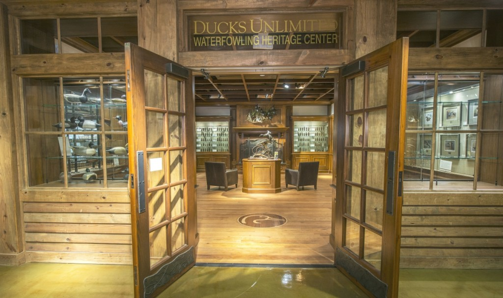 The Heritage Center, permanent display space at Ducks Unlimited, Memphis, Tenn.