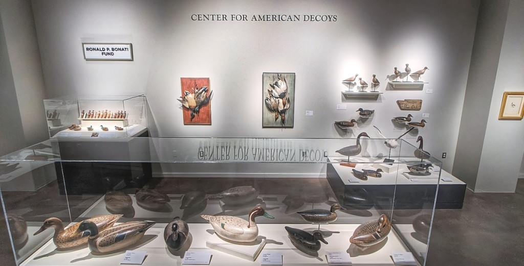The Center for American Decoys at the Peoria Riverfront Museum, Peoria, Ill.
