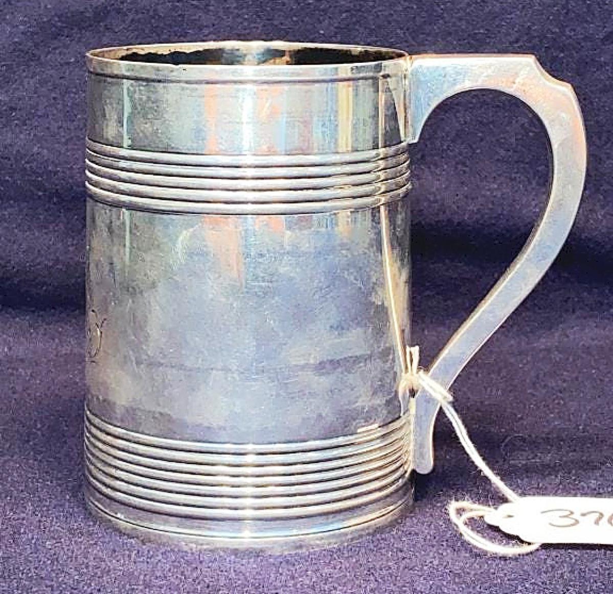 376 Silver Tankard JR
