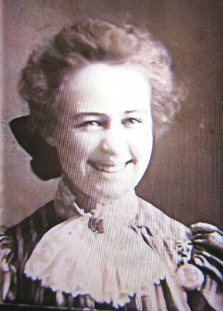 A newly surfaced photograph of   Fern Coppedge, circa 1900.